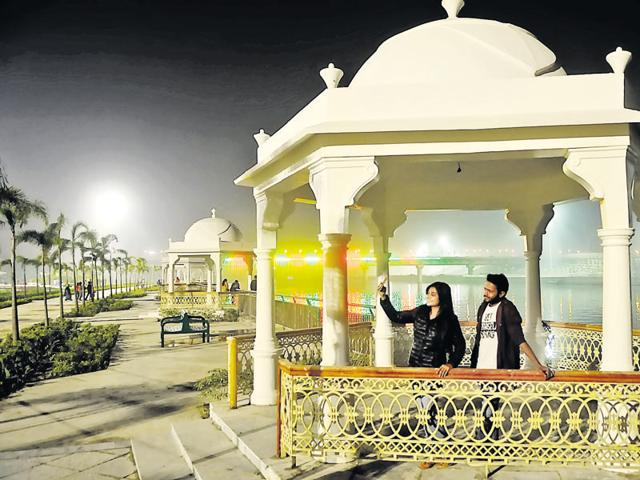 Gomti Riverfront,Akhilesh Yadav,Samajwadi Party government