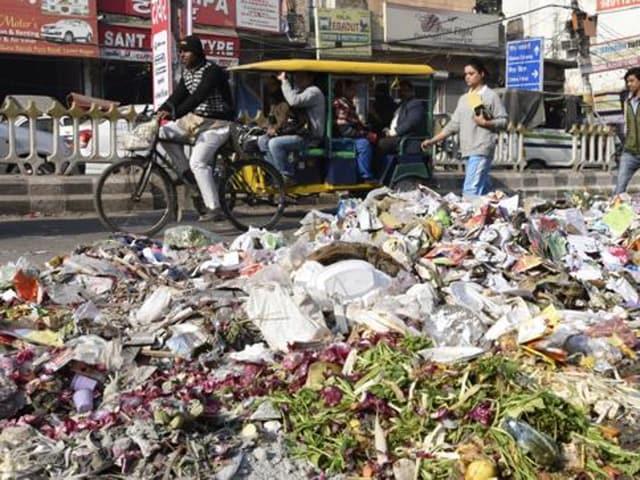 garbage,Ferozepur Cantonment Board,SLRM