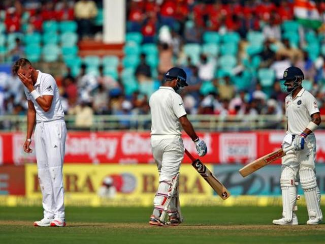 Virat Kohli and Cheteshwar Pujara made centuries and shared a stand of 226 after India were reduced to 22/2.