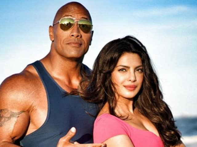 """Dwayne Johnson was labelled as the """"sexiest man alive"""" by People magazine and Priyanka on Tuesday took to Twitter to congratulate him."""