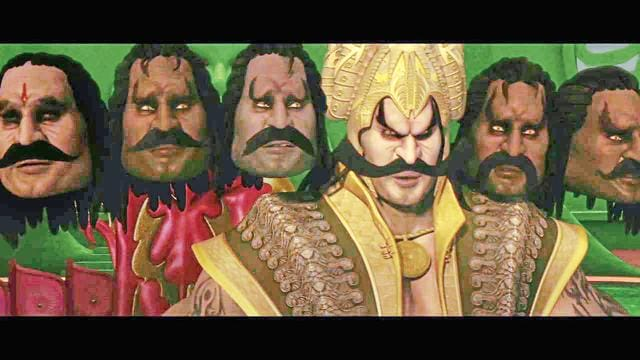 Mahayoddha Rama is a must-watch for the cheesy dialogues among Raavan's (voiced by Gulshan Grover, Kiku Sharda, among others) 10 forever jabbering heads