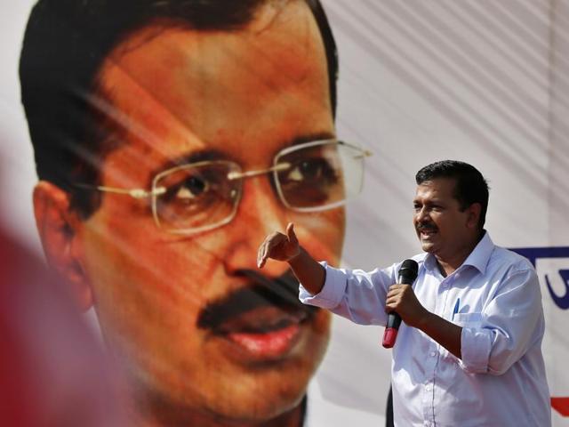 Rajya Sabha MP Subhash Chandra filed a criminal defamation case against Delhi chief minister Arvind Kejriwal.