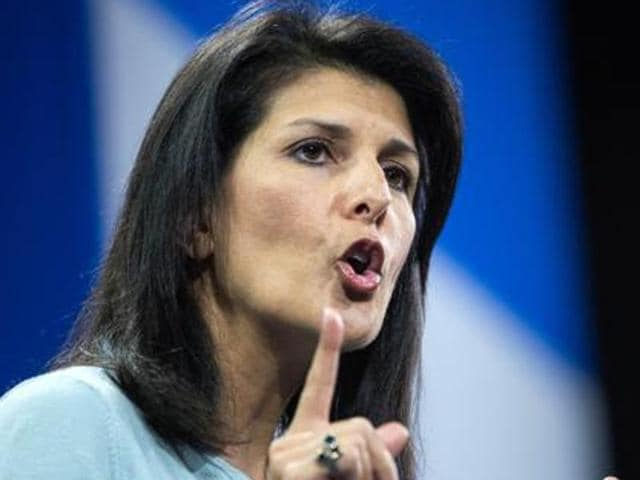 South Carolina governer Nikki Haley is a contention for the position of secretary of state.