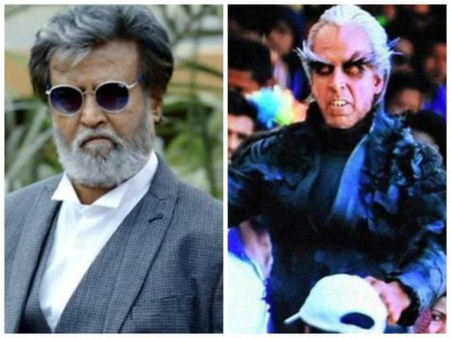 Rajinikanth and Akshay Kumar both shared the first teaser poster of 2.o on Twitter.