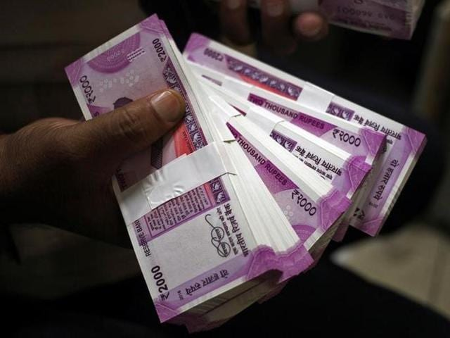 Police are at a loss to understand how the money was procured because the government has imposed a Rs 20,000 weekly limit on withdrawal of currency.