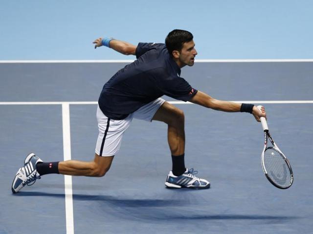 Novak Djokovic Thrashes David Goffin Picks Row With Chair Umpire Tennis Hindustan Times
