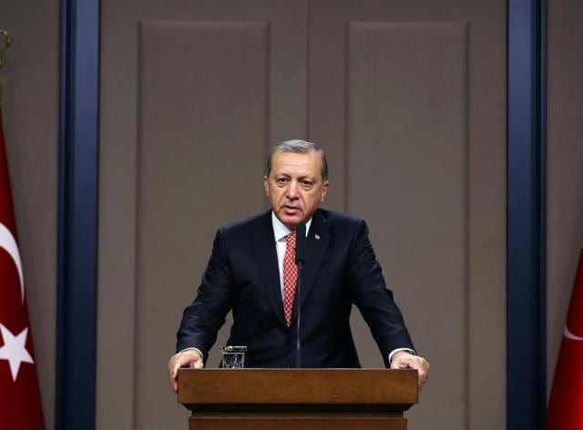 Erdogan, who was elected to the top post in 2014 after serving as prime minister for more than a decade, is seeking a strong presidency similar to France or the United States.