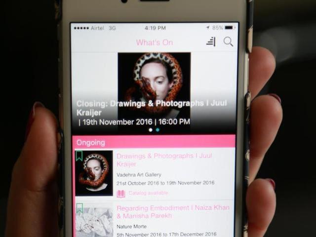 ArtBuzz,Art Events,App