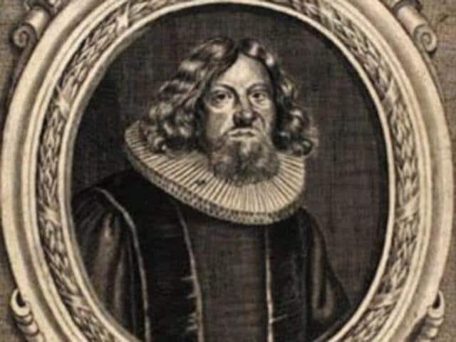 Portrait of bishop Jens Bircherod.