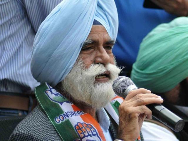 Sarwan Singh Phillaur in Chandigarh on Friday.