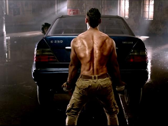 John Abraham returns as tough cop Yashvardhan in Force 2. (YouTube)