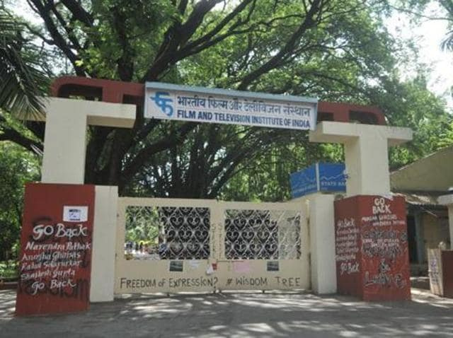 Film and Television Institute of India,FTII student,FTII protest