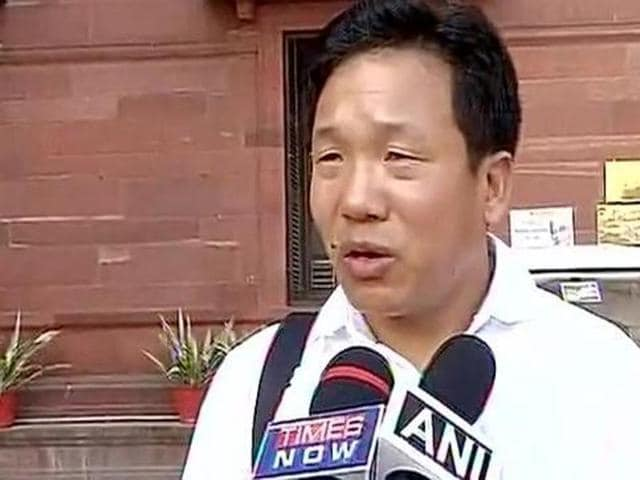 Bamang Tago was reportedly denied a visa by the Chinese embassy in New Delhi because he is from Arunachal Pradesh.