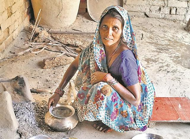 Some villagers have been compromising with their eating habits, shunning vegetables and managing with roti-chutney only.