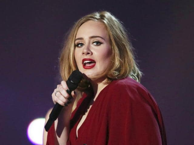 Adele's response at seeing the bat at Mexico City venue where she was to perform was priceless.