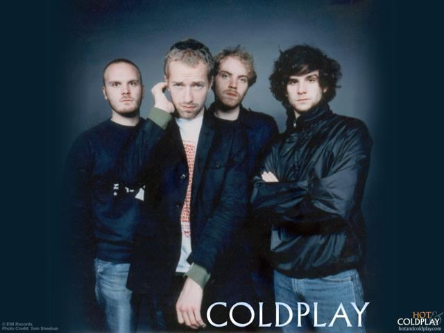 The British rock band Coldplay will perform on Saturday.