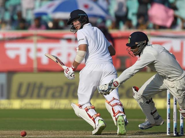 India wicket keeper Wriddhiman Saha has redeemed himself in Visakhapatnam after dropping Ben Stokes twice in the drawn first Test in Rajkot.