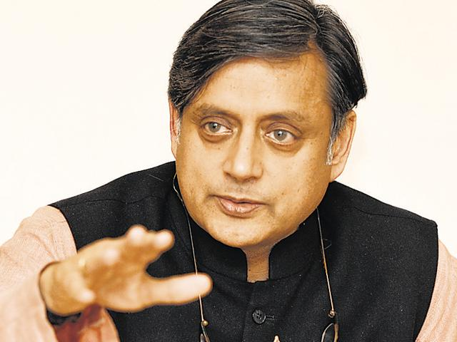 Tharoor spoke of his new work, An Era Of Darkness: The British Empire In India at Tata Literature Live! at the NCPA.
