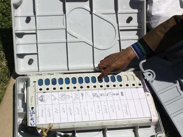 The electronic voting machines will display photographs of the candidates too apart from the symbols.