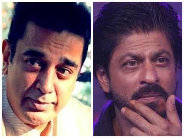 Kamal Haasan and SRK may be part of launch of first  look of 2.o in Mumbai.