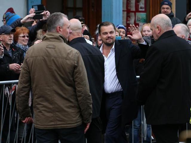 Leonardo DiCaprio,Fans,Scotland