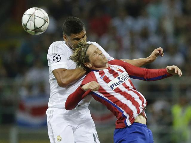 Atletico Madrid gave away just three goals in their opening 11 games of the season and led La Liga alongside Real Madrid.
