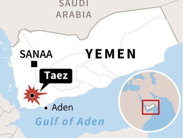 Yemen Civil war,Aben,Taez