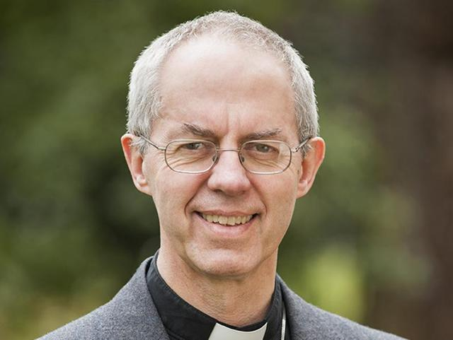File photo of the Archbishop of Canterbury, Justin Welby, who began a two-day visit to Pakistan on Saturday.
