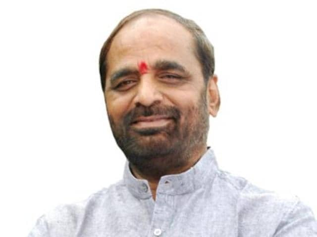 File photo of Union minister of state for home Hansraj Ahir.