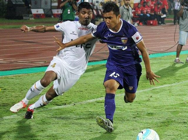 Jerry Lalrinzuala, 18, has played in all 10 games for Chennaiyin FC.