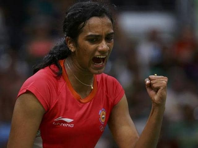 PV Sindhu defeated Ngan Yi Cheung 21-14, 21-16 in a women's semifinal match on Saturday while Sameer Verma managed the upset of the tournament, beating World No. 3 Jan O Jorgensen 21-19, 24-22.