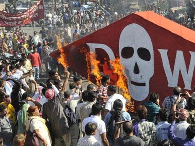 Bhopal gas leak