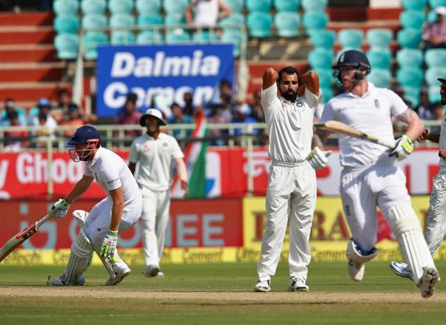 Resuming the day with England on 103-5, Ben Stokes and Jonny Bairstow showed great determination to frustrate the hosts.