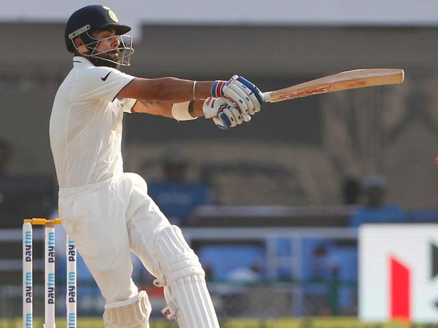 Virat Kohli played with confidence as India stretched their lead over England in the Vizag Test.