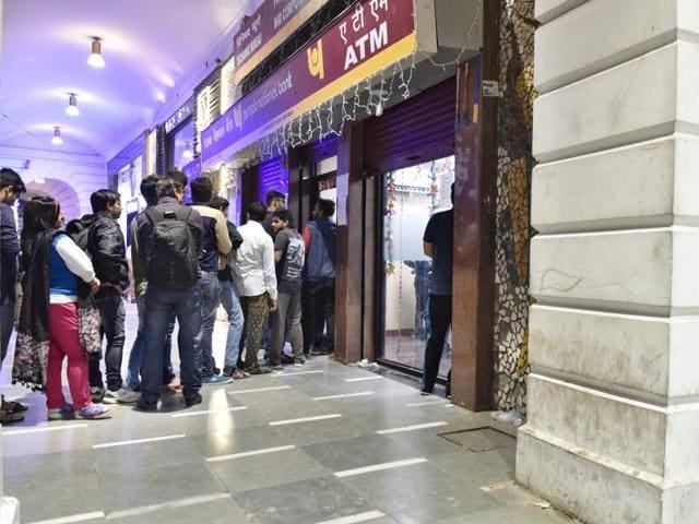 Delhi,Banks,Demonetisation