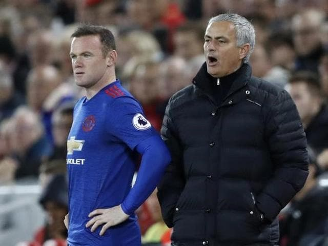 Manchester United  manager Jose Mourinho was angry with the FA for not supervising Wayne Rooney (right) more closely.