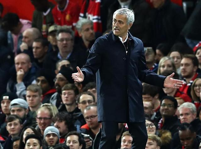 Manchester United manager Jose Mourinho has repeatedly criticised his team in public this season.