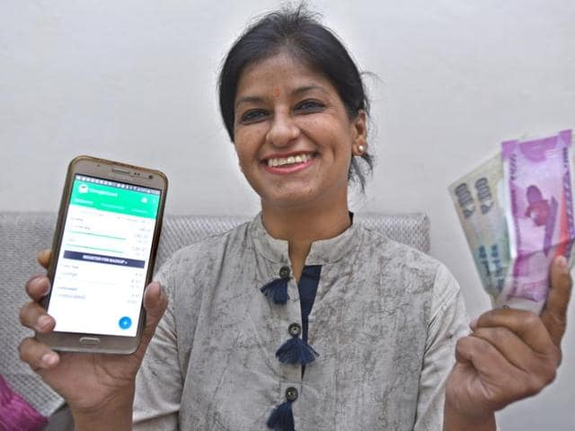 Pooja Wadhwa, a resident of Vaishali in Ghaziabad , India is learning lessons in austerity from Living Without Money, a globally-acclaimed documentary.