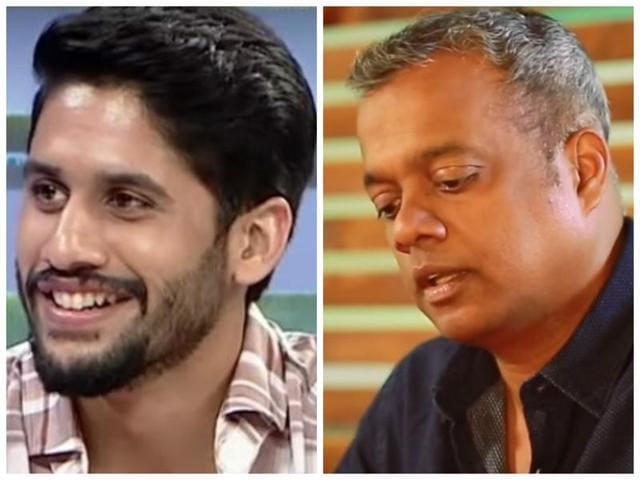 Naga Chaitanya and Gautham Menon (right) have previously worked together in films like Ye Maaya Chesave and Saahasam Sagipo Swasaga.