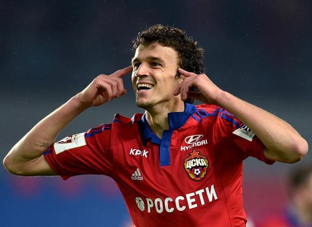 Roman Eremenko,CSKA Moscow,Football