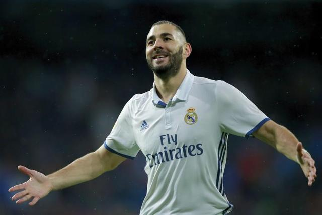 Karim Benzema is Real Madrid's top choice to accompany Cristiano Ronaldo and Gareth Bale in attack.