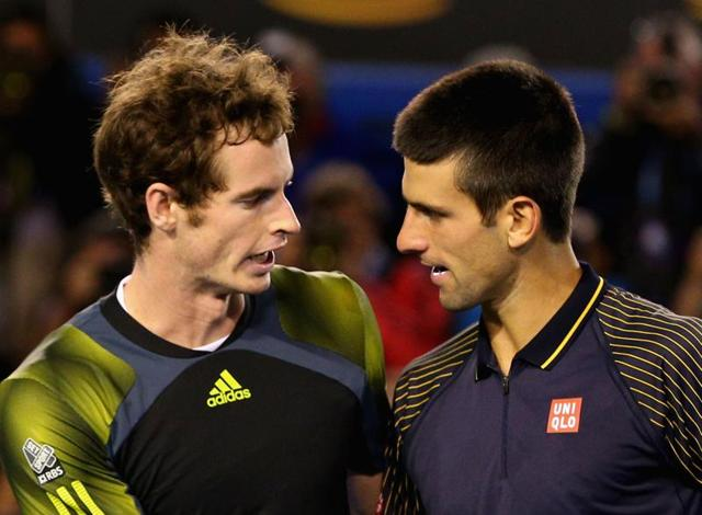 Novak Djokovic has a 24-10 lead in his head to head with Andy Murray.