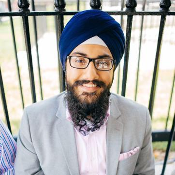 Harmann Singh, a first year student at the Harvard Law School said he was abused and harassed by a man in a store in Cambridge, Massachusetts, who mistook him for a Muslim.(Photo courtsey: Harmann Singh's Facebook page)