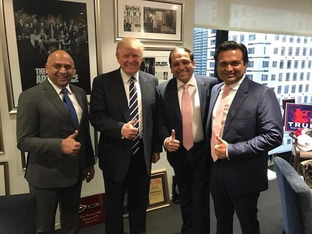 Trump Organization,Trump Indian partners,Sagar Chordia