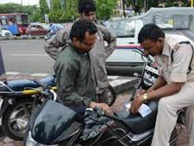 Kolkata Police,Traffic fines,No fine