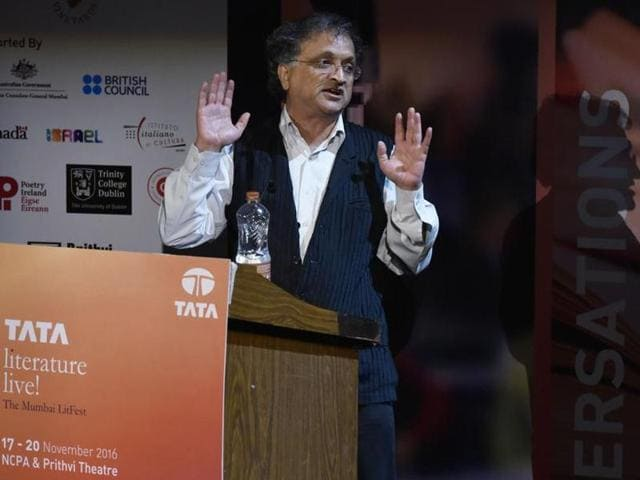 Ramachandra Guha's session at Tata Literature Live! was a tad longer than the stipulated 60 minutes, but no one was complaining.