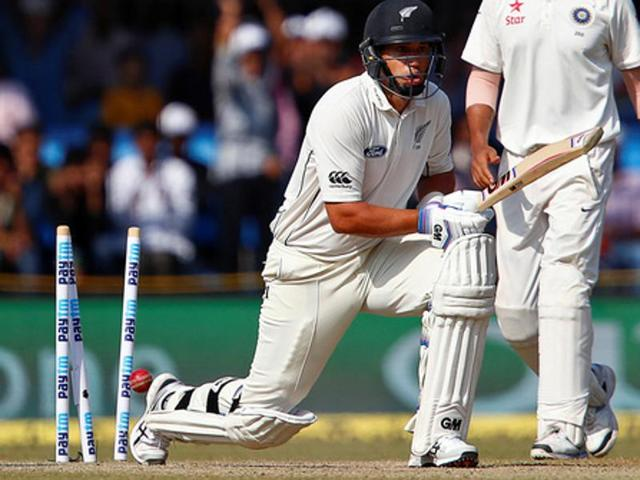 New Zealand's Ross Taylor struggled in the series against India in September-October, scoring just 89 runs in six innings, at an average of less than 15 runs.