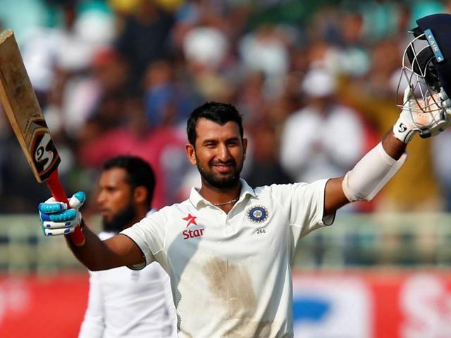 Cheteshwar Pujara,India vs England,Vizag Test