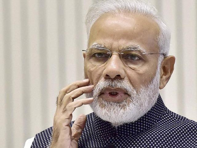 Prime Minister Narendra Modi today expressed grief over the loss of lives in the derailment of the Patna-Indore Express near Kanpur.