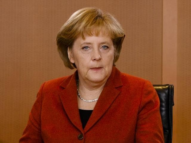 German Chancellor Angela Merkel , 62,  said to her party that she will seek re-election for the fourth term.